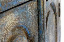 ארון כחול, עיצוב – סנדרין בנימין